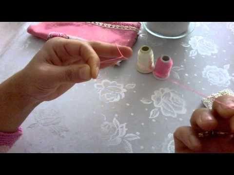 Mekik Oyası 1.Ders Zincir Atma Tekniği - YouTube
