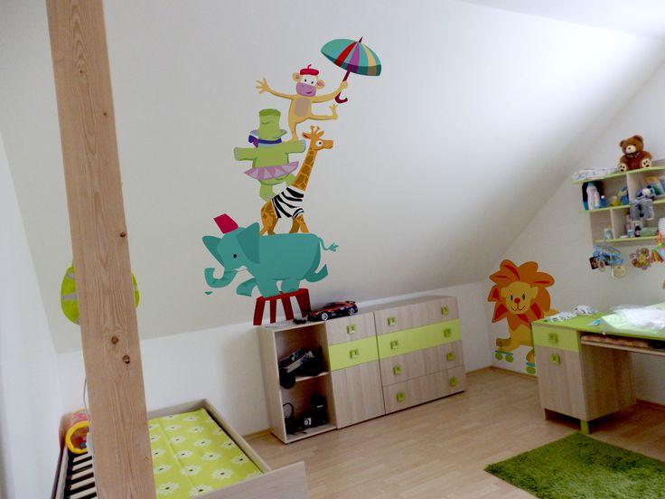 Návrh na malbu v dětském pokoji