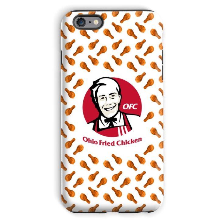 Team 10 Ohio Fried Chicken phone case