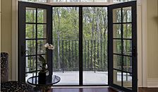 Professional Series Retractable Door Screens that use magnet latching system. Get yours at dilloncompany.com.