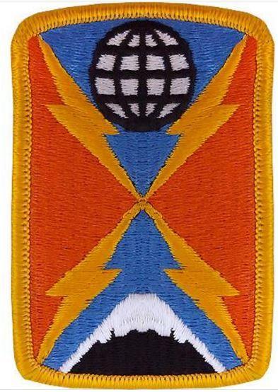 1104th Signal Brigade Class A Patch