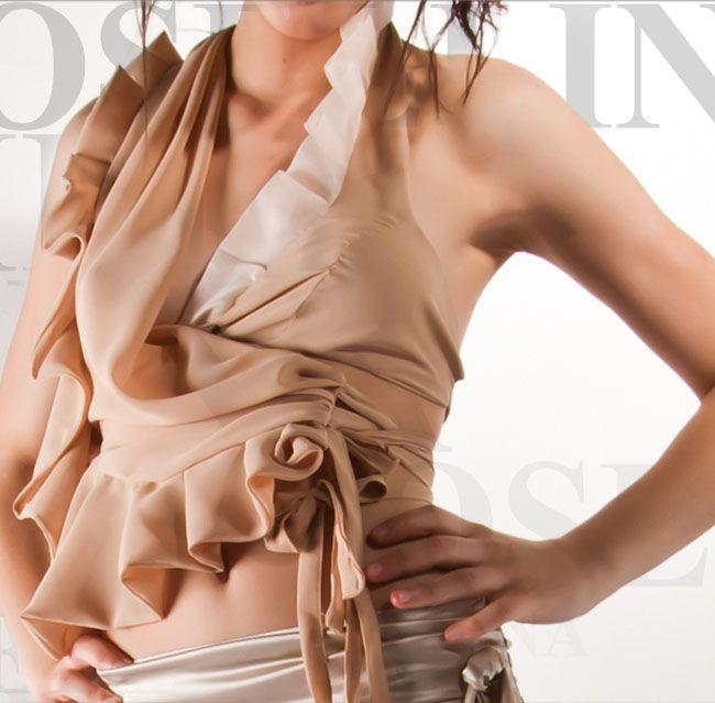 Rosellina Mele - Top incrociato
