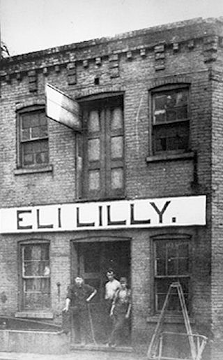Col. Eli Lilly launched his drug company in a modest, two-story building at Meridian and Pearl streets in 1876.