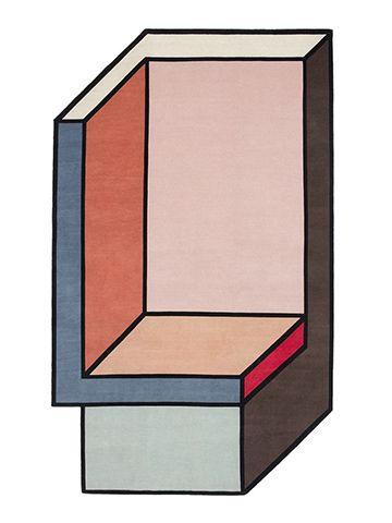 Tappeti cc-tapis con motivi geometrici Visioni by Patricia Urquiola