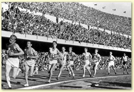 The 1952 Summer Olympics, officially known as the Games of the XV Olympiad, were an international multi-sport event held in Helsinki, Finland,