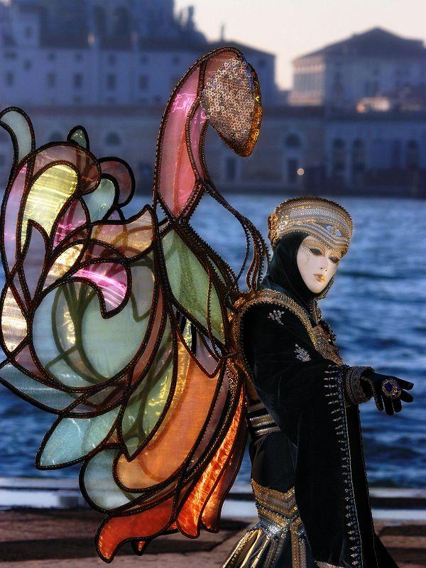 I love the wings #Mask in #Venice #Carnival, province of Venezia Veneto