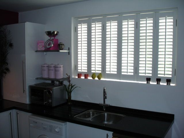 Kitchen #shutters