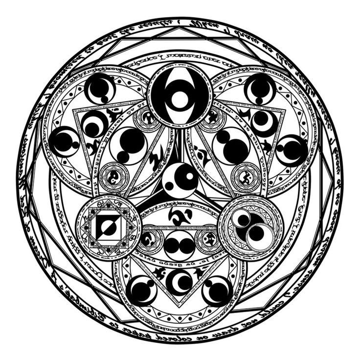 magic circle 1 by nnao on deviantart magic math and art