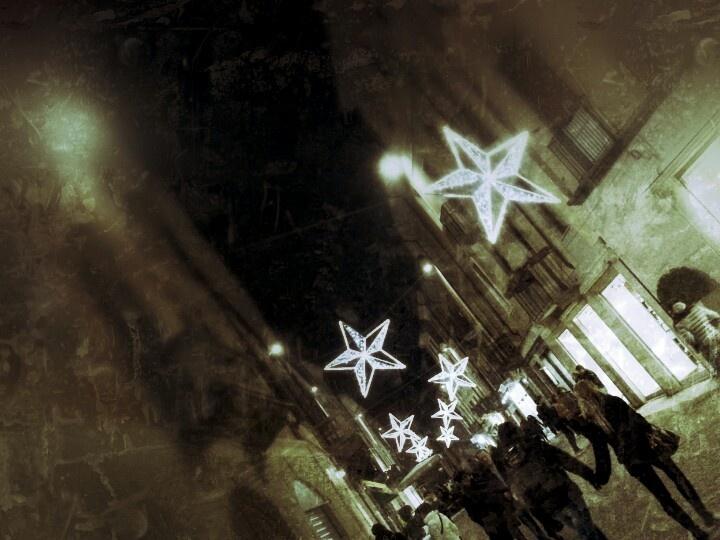 Christmas lights, Vigevano