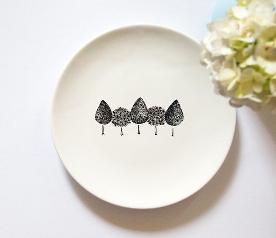 Found this in Etsy :) (http://www.etsy.com/listing/83573854/garden-plate-small-size)