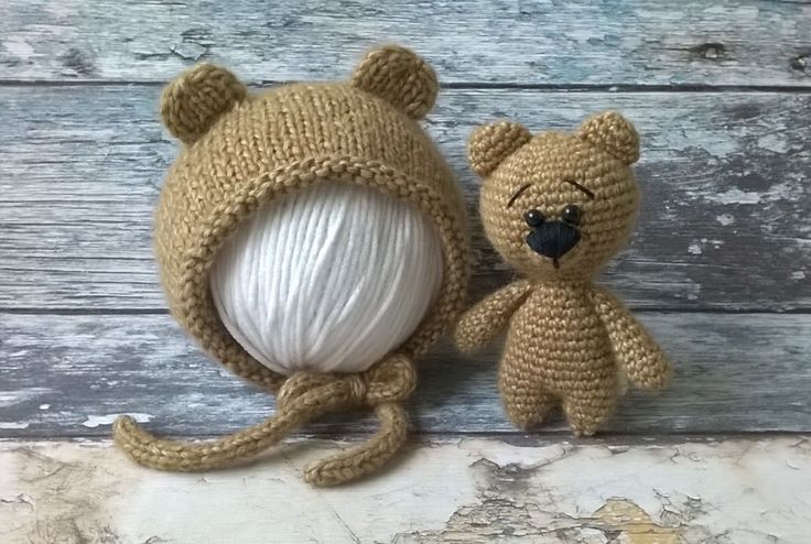 Комплект Медвежонок  в светло-коричневом цвете. #lida_vyazhet #handmade #реквизитдляфотосессии #реквизитдляноворожденных #crochet #вязание #вязаниеназаказ #newbornprops #lidavyazhet #лидавяжет #knittingwithlove #шапкамедвежонок #медведькрючком #crochet #фотореквизит #реквизит #фотосъемкановорожденных #newbornphotoprops #newbornphoto #photoprops #babyprops #props #bonnetbear