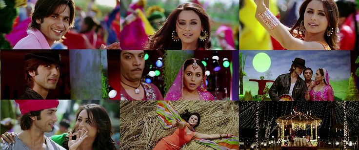 Dil Bole Hadippa! 2009 - Shahid Kapoor, Rani Mukherjee