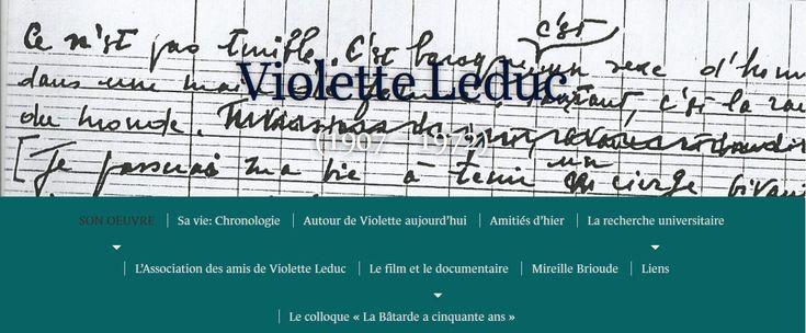 violette leduc | Auto-défense intellectuelle: Vladimir Jankélévitch ...