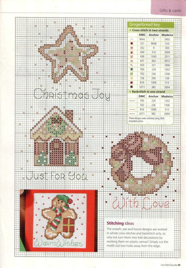 78 best point de croix gingerbread images on pinterest cross stitches christmas cross. Black Bedroom Furniture Sets. Home Design Ideas