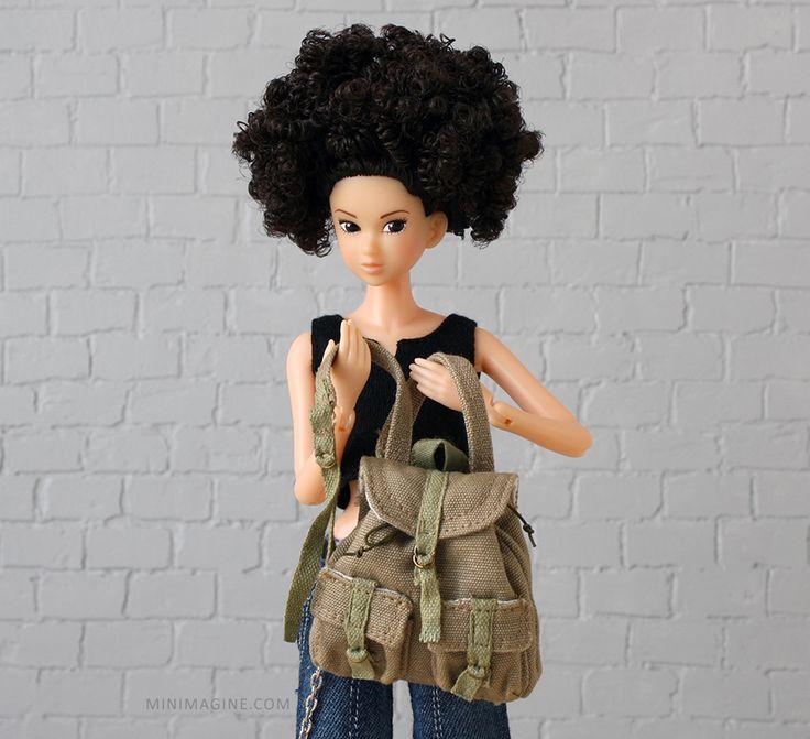 Momoko 'Everyday B-Girl' #momokodoll #dollcollector #dollcollection #dollportrait