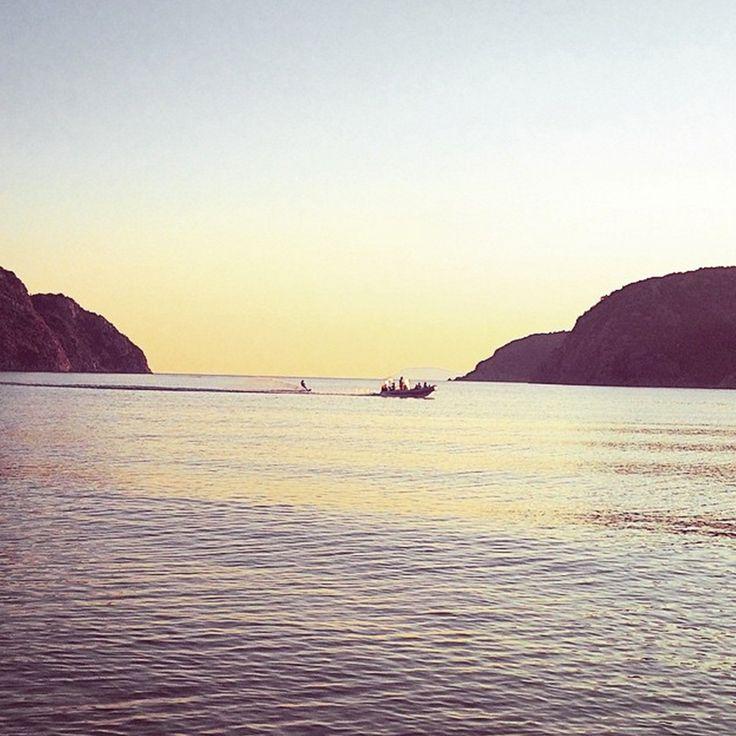 Watersports in Porto Koufo! Well done @mariam_str #Halkidiki