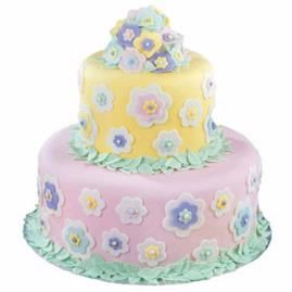 Floral Dimensions Cake from the Wilton site