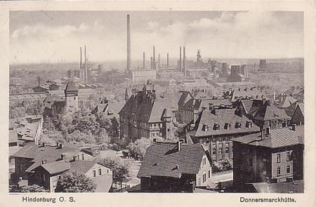 Donnersmarck Steelmill in Zabrze