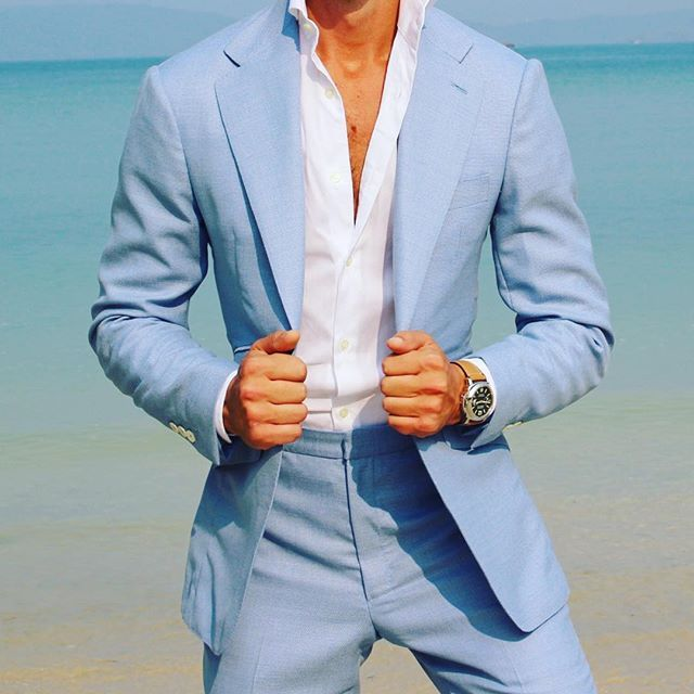 Best 25 Light Blue Suit Ideas On Pinterest Summer