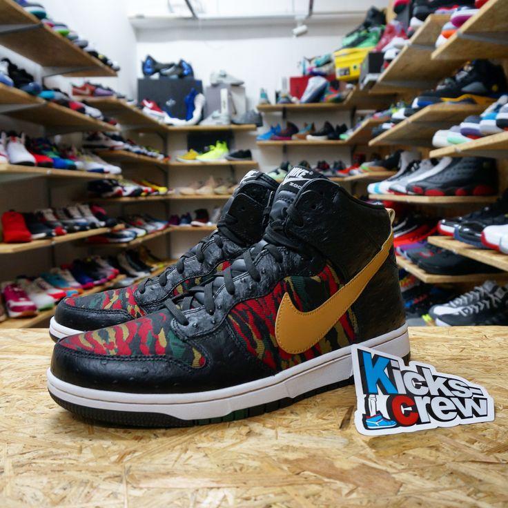 www.kicks-crew.com #NewArrival Nike Dunk High CMFT PRM QS -