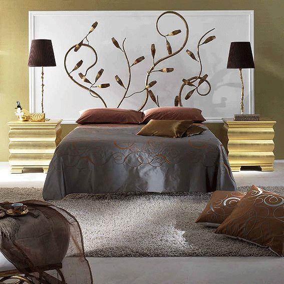 1000 ideas sobre cabecero de hierro en pinterest marcos - Cabeceros metalicos para camas ...