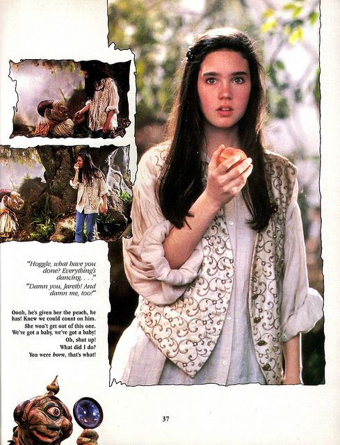 Jennifer Connelly is only 15 in this film. How can someone be so perfect at 15?!