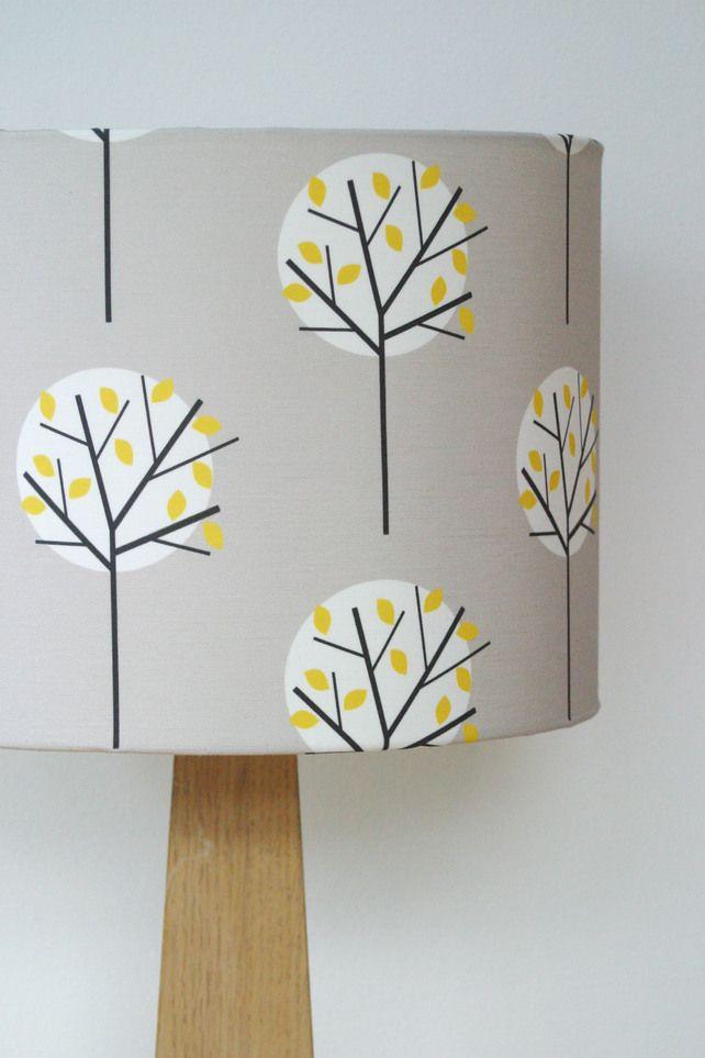 Moonlight tree drum lampshade £50.00