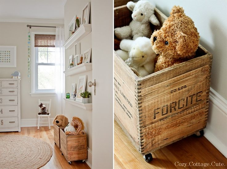 vintage baby rooms | baby girl or a baby boy the space is just light and airy ready for ...