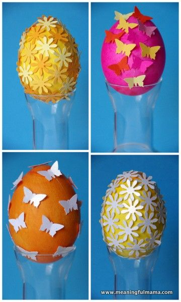 "Easter Egg Decorating Inspired by ""All You"" Magazine - Meaningfulmama.com"