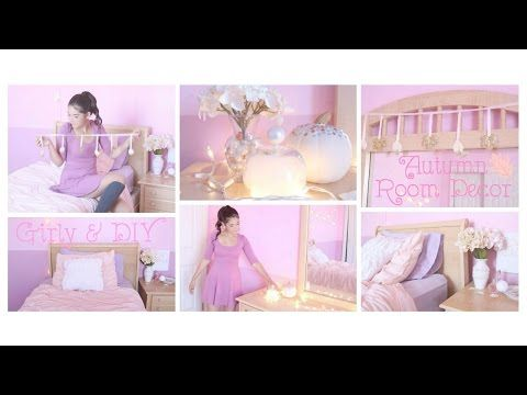 Autumn / Fall DIY Girly Room Decor & Inspiration - NEW VIDEO CLICK TO WATCH #beautyybychloe #video #Bblogger #lblogger #blogpost #howto #youtube #fall #autumn #diy #diyroomdecor #diydecor #falldiy #autumndiy #doityourself #girlydiy #girlydiydecor #falldiydecor #glitter #pumpkin #fashion #style #design #craft #project #crafts