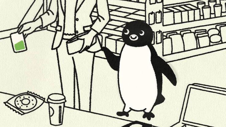 Suicaのペンギンがコンビニにやってきた! Suicaでお支払いだけでなく、チャージもおねだり。 駅でも街でもコンビニでも、Suicaで便利に。