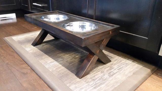 Dog dish stand / holder