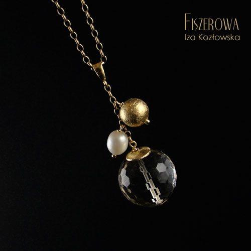 Kontra - złoto / Fiszerowa / Biżuteria / Wisiory