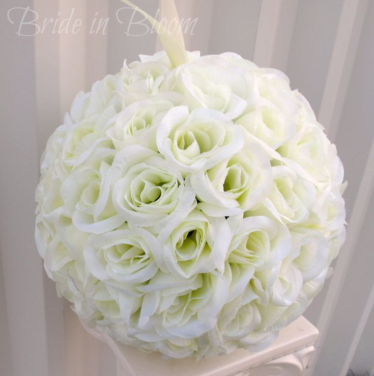 Kissing Pomander Flower Ball | Request a custom order and have something made just for you.