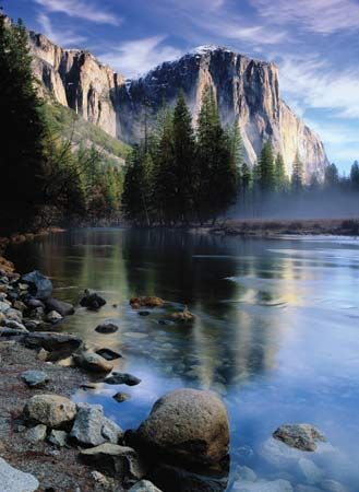 Yosemite National Park - One of my favorite places, it's spectacular.