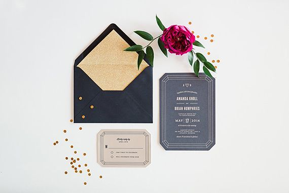 Mid-century modern wedding inspiration | Photo by Morning Light By Michelle Landreau | Read more - http://www.100layercake.com/blog/?p=72394