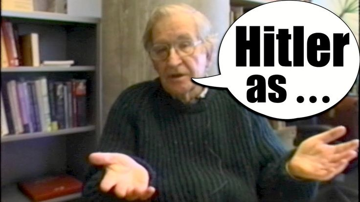 Chomsky Hitler History Lesson and the American government's support of fascism in the 1930s.  3:46