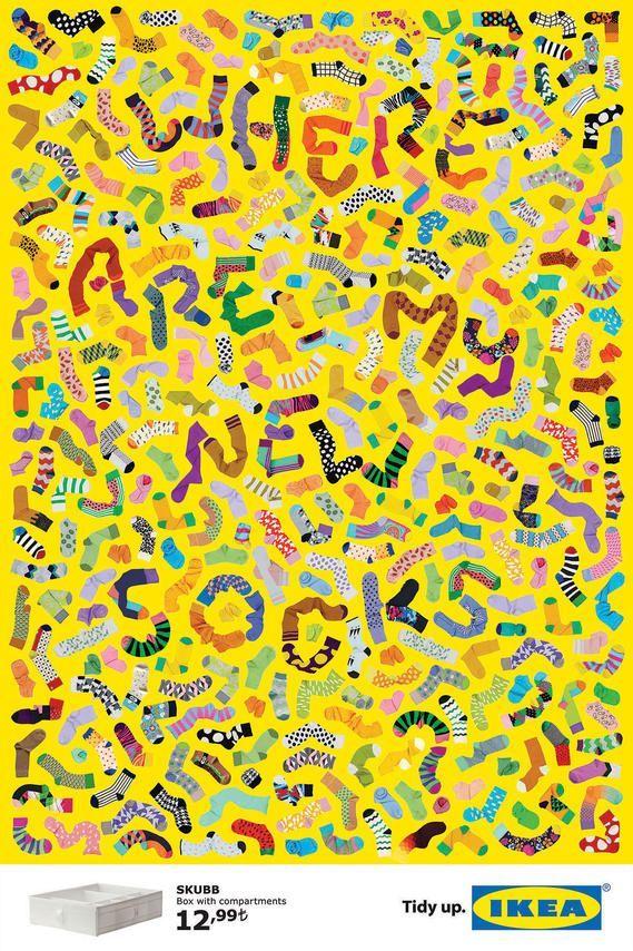 Affiches typographiques Fantômes pour Ikéa - Graphéine - Agence de communication Paris LyonGraphéine – Agence de communication Paris Lyon