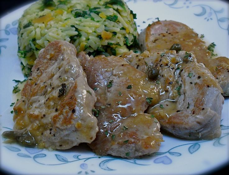 Greek Pork Tenderloin Medallions