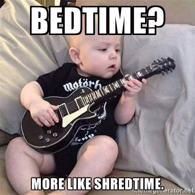 #bandmemes #musicmemes #bandadda We all wish we were as cool as this baby...