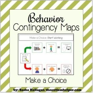 Some of these behavior interventions are confusing for us to understand so how the heck are our kids going to understand these contingencies? Visuals to the rescue! Behavioral Contingency Maps are a MUST-HAVE resources that will clearly & concretely explain any behavioral intervention to your kids. After a bunch of weeks of behavior intervention – … … Continue reading →
