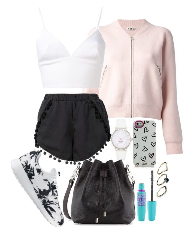 Untitled #157 by margaridasilv on Polyvore featuring polyvore fashion style Clover Canyon Acne Studios NIKE Proenza Schouler Kate Spade ASOS Sonix Volum clothing