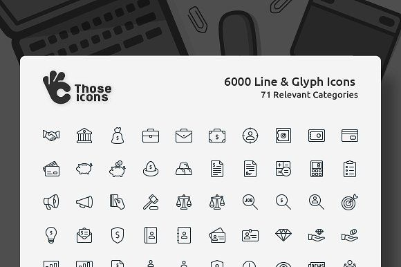 Those Icons by Those Icons on @creativemarket
