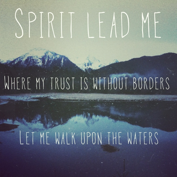 Oceans by hillsong. Zion album. Made by me, my hometown Sitka in the background ❤