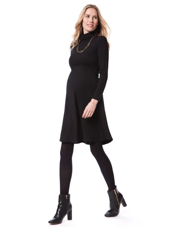 Vanessa Turtleneck Black Maternity Dress. shop >>> www.Seraphine.com christmas maternity outfit | christmas maternity clothes | christmas maternity photos | christmas maternity dress | christmas maternity pictures | christmas maternity  photography | pregnancy christmas outfit | pregnancy | christmas photos | maternity clothes | maternity style | pregnancy fashion | maternity fashion first trimester | pregnancy style chic | pregnant | mom to be | bump style | BabyBump | ExpectingMom…