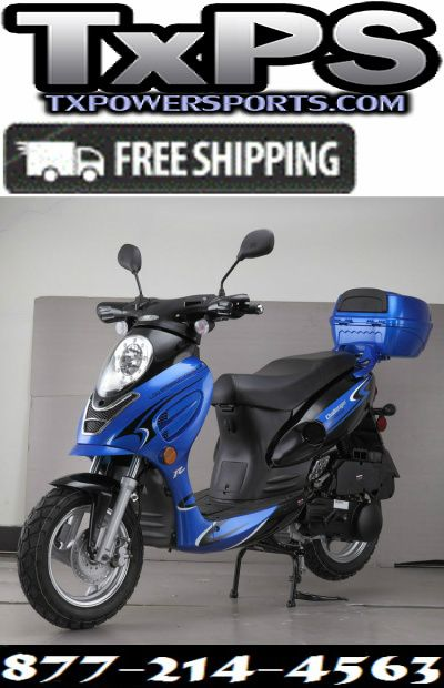 Cougar Cycle CHALLENGER 150cc Scooter, 4 Stroke, Air-Forced Cool,Single Cylinder Free Shipping Sale Price: $1,195.00