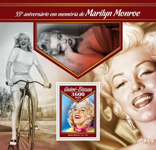 GB17008b 55th memorial anniversary of Marilyn Monroe (Marilyn Monroe (1926–1962))