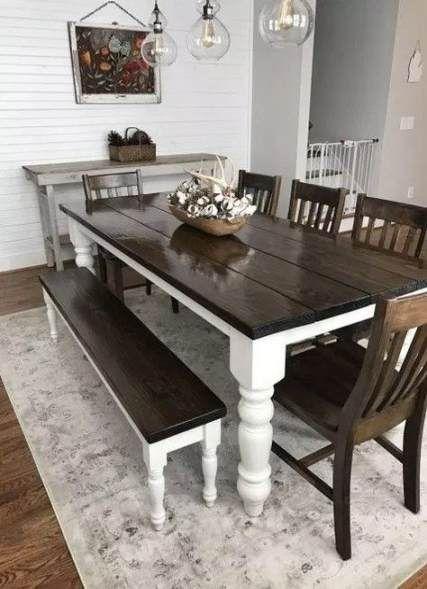 best farmhouse style dining room joanna gaines 15 ideas