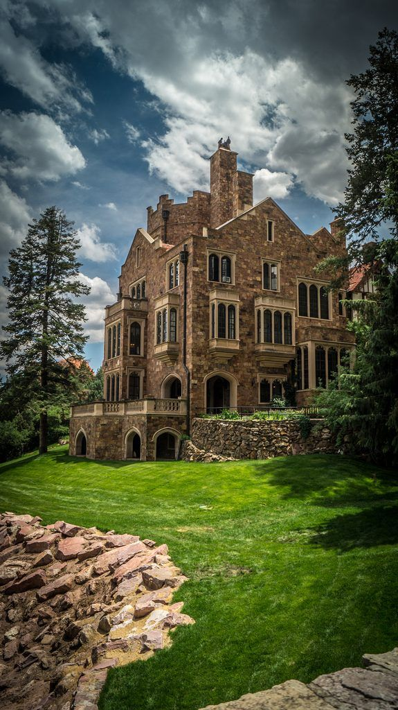 Glen Eyrie, Colorado Springs, built by the citys founder, William Palmer
