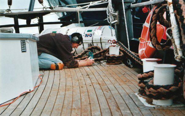 Re caulking Spirit of NZ 2003 Aaron, Director at Tradeline